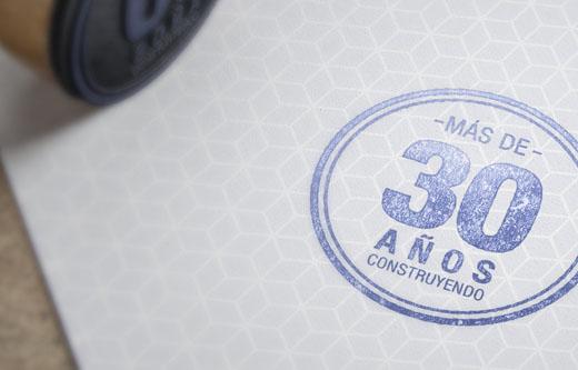 Marcaser - sello 30 años