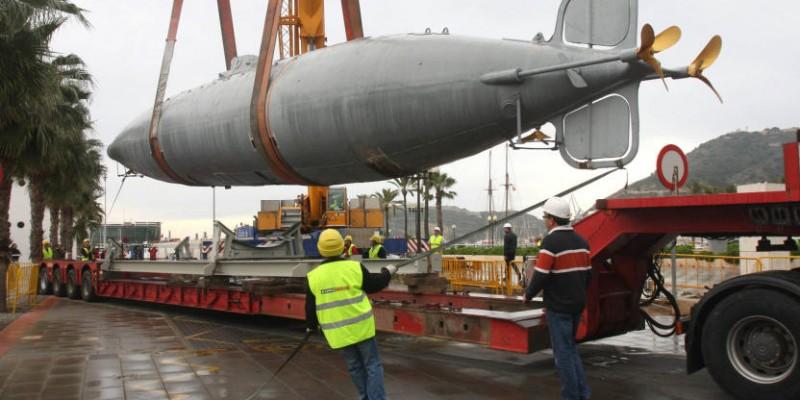 Marcaser - traslado de submarino