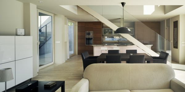 Marcaser - sala y comedor en vivienda la alberca