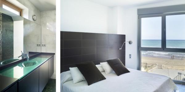 Marcaser - dormitorio y baño