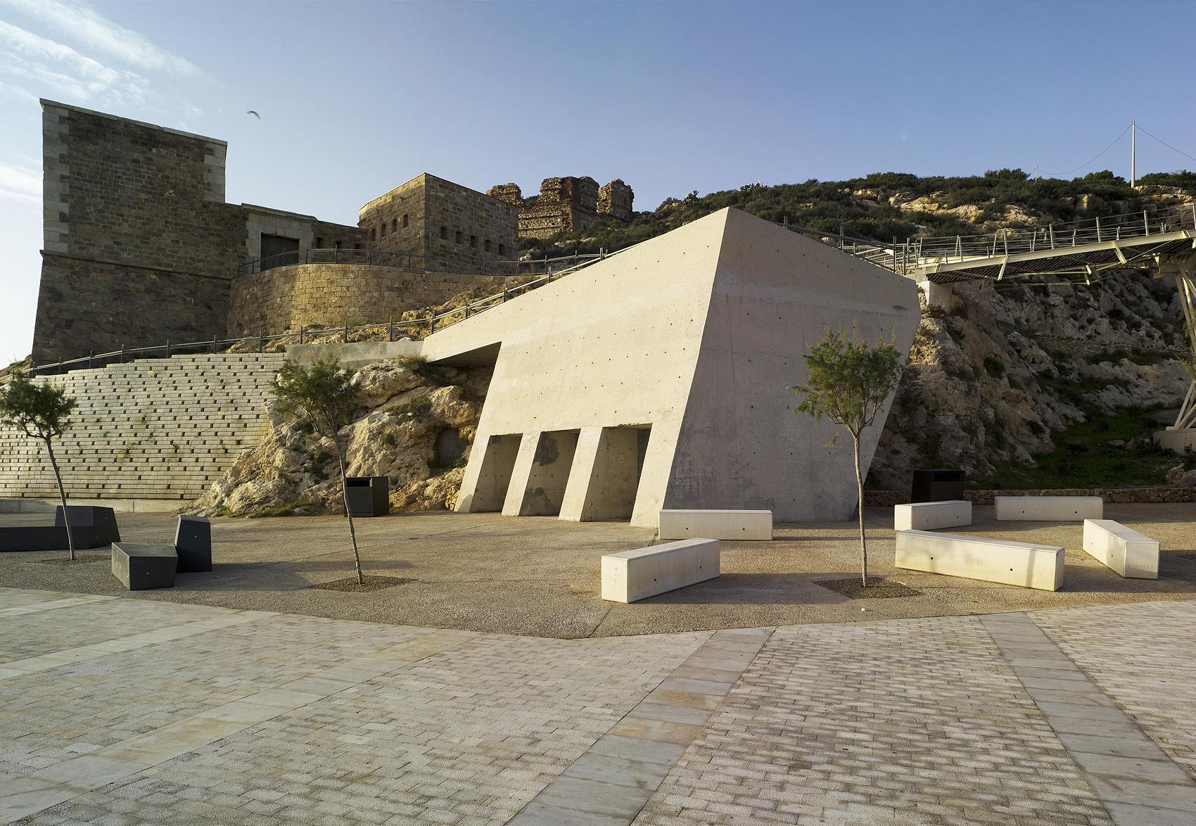 Marcaser - Estructura de fuerte en Cartagena