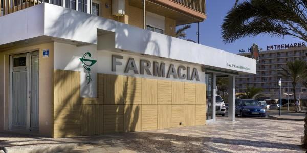 Marcaser - farmacia la manga fachada lateral