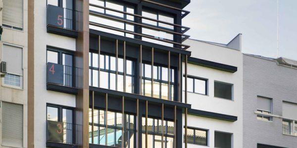 Marcaser - Fachada Edificio Murcia