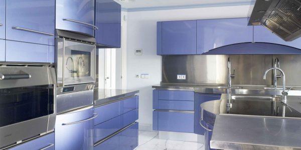 Marcaser - cocina azul