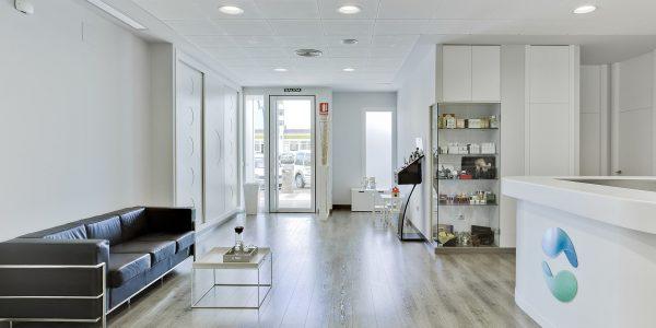 Marcaser - entrada a centro de estética