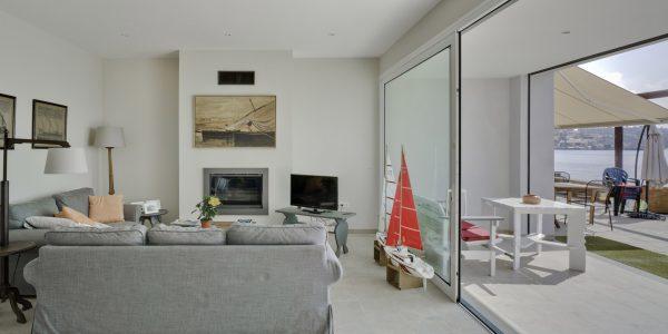Marcaser - sala de estar remodelada y redecorada