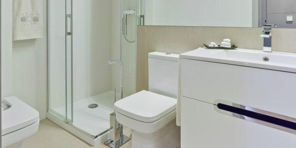 Marcaser - baño con ducha en lamanga