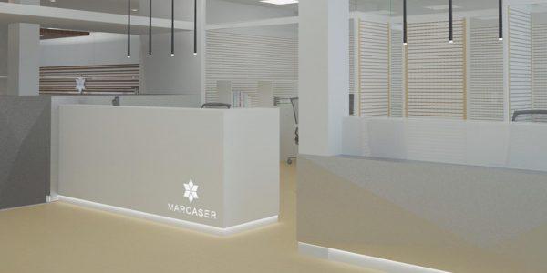 Marcaser - luz en oficinas