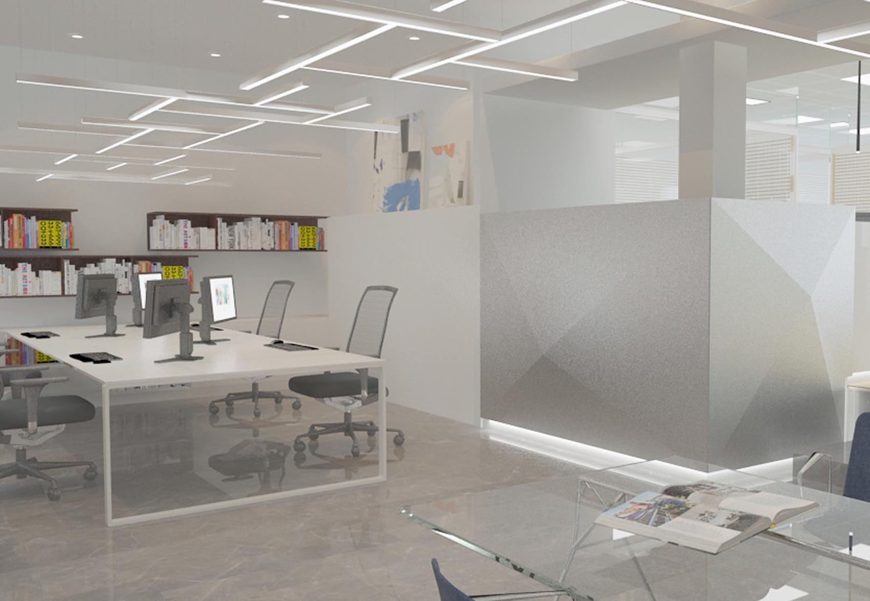Decoraci n oficinas cartagena marcaser for Oficinas caser