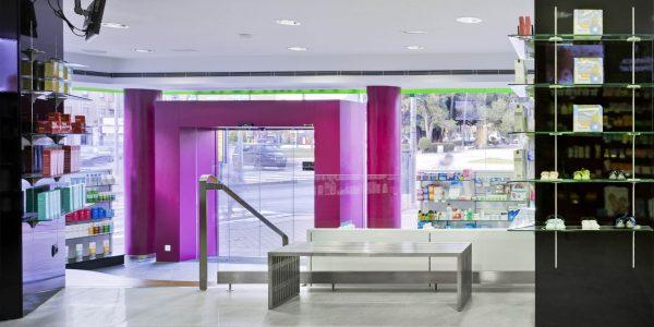 Marcaser - Interior de farmacia España