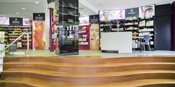 Marcaser - Escalones farmacia