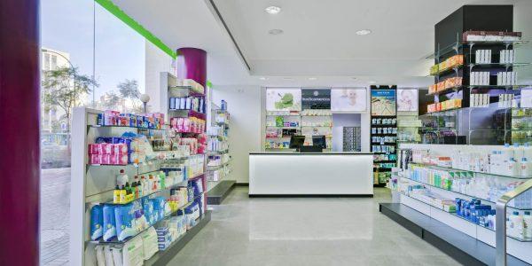 Marcaser - Interior de farmacia
