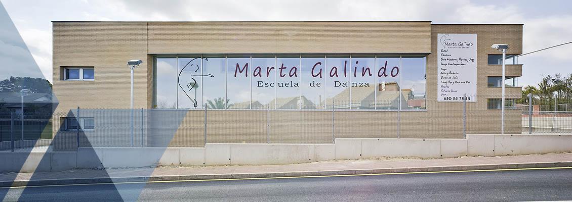 Marcaser - fachada escuela de danza