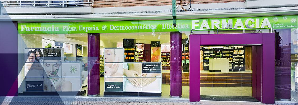 Marcaser - Fachada farmacia plaza España