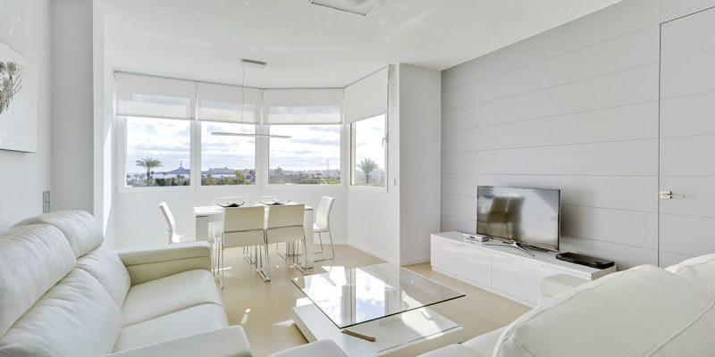 Marcaser - sala comedor en color blanco