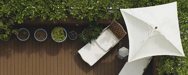 Marcaser - detalles para decoración de terraza