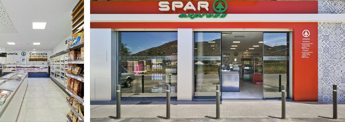 Marcaser -  fachada supermercado