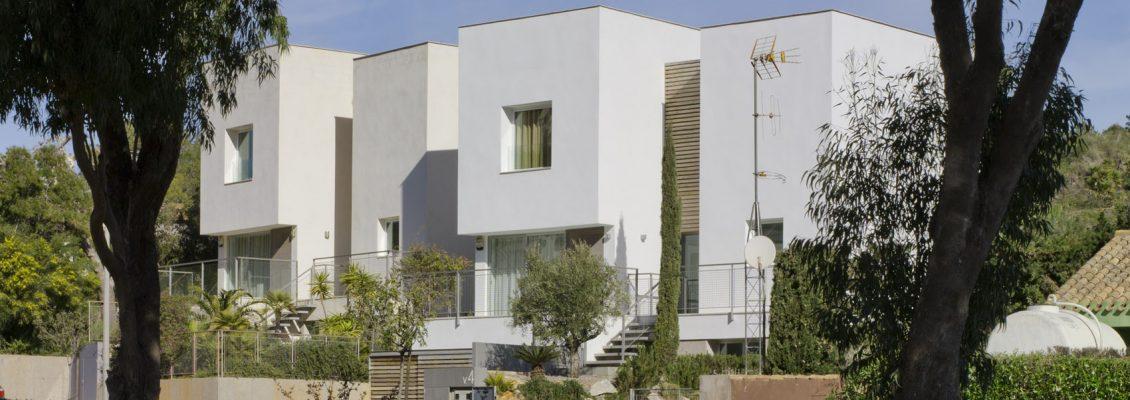 Marcaser - fachada de viviendas